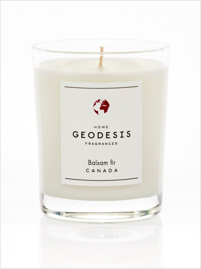 Scented candle Balsam fir