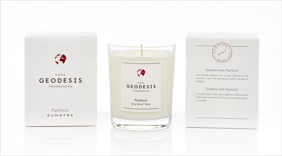 Scented candle$Patchouli