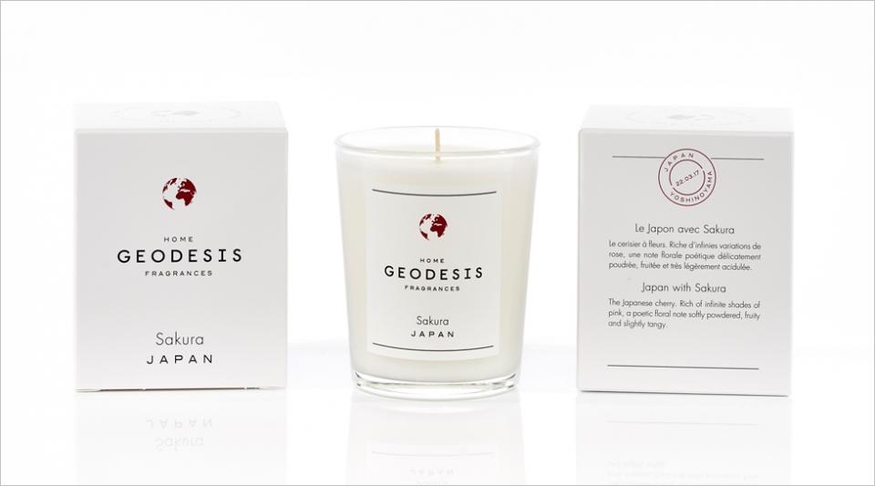 Bougie parfumée 70G Sakura