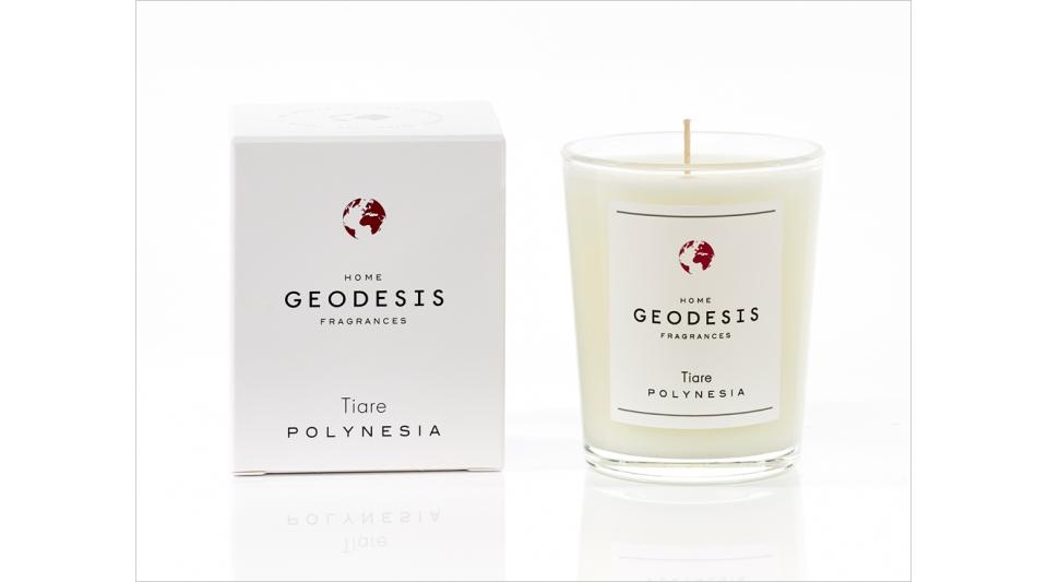 Bougie parfumée 70G Tiaré