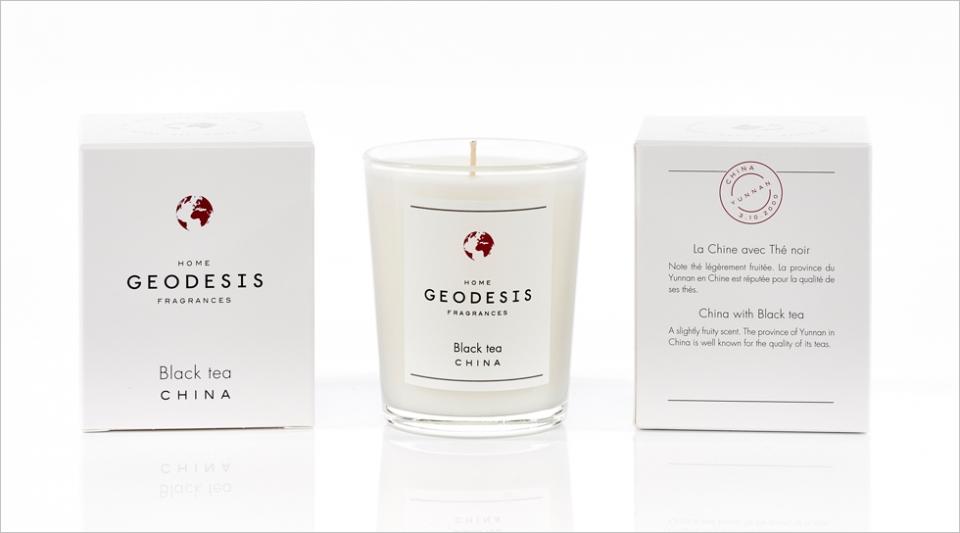 Scented candle 70G Back tea