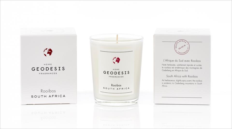 Bougie parfumée 70G Rooibos