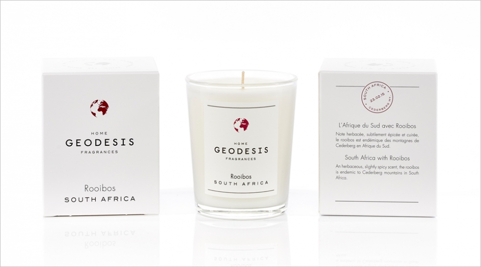 Scented candle 70G Rooibos