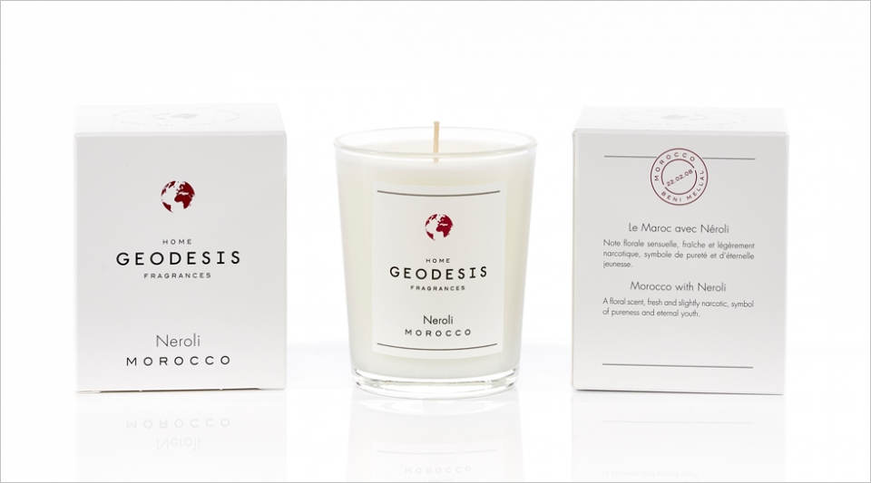 Scented candle 70G Neroli