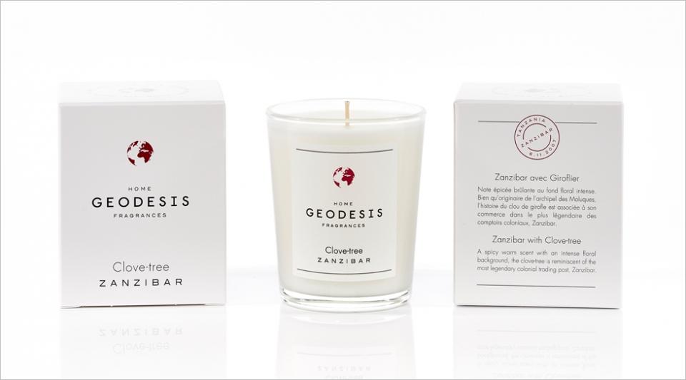 Bougie parfumée 70G Giroflier