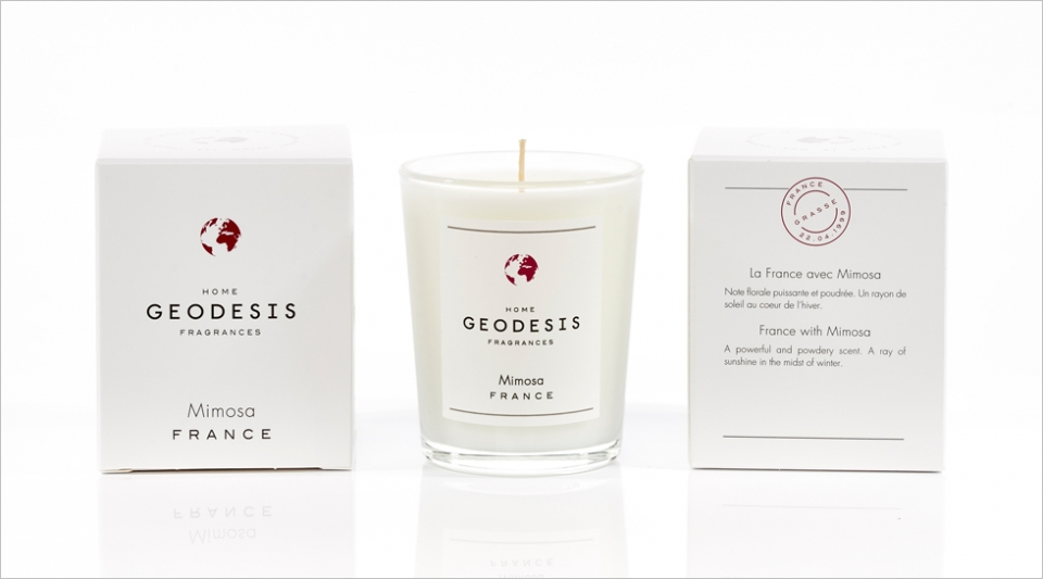 Scented candle 70G Mimosa