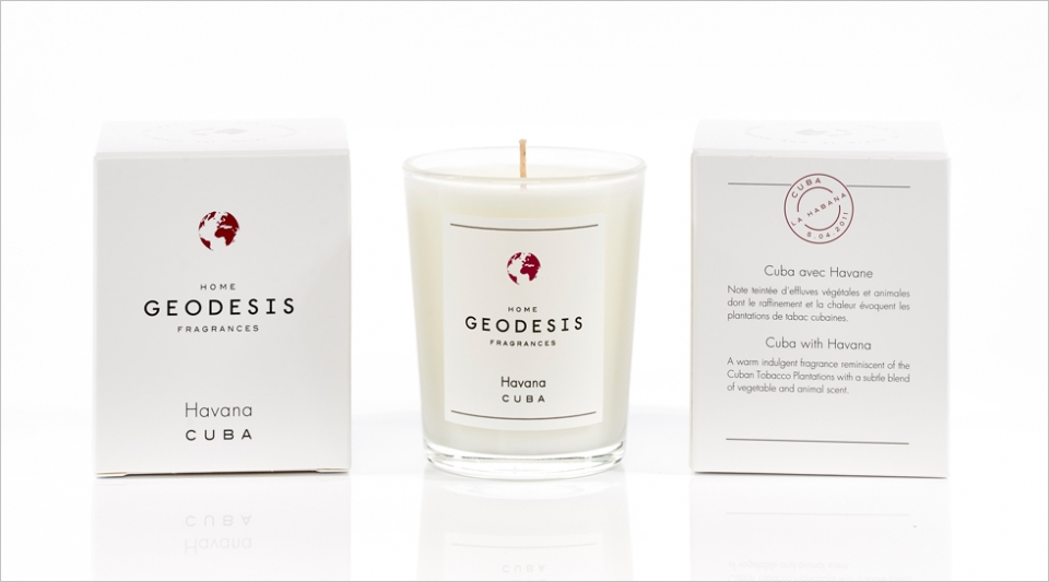 Scented candle 70G Havana