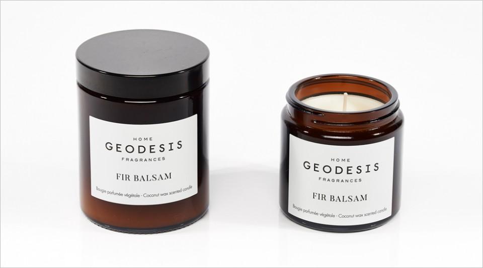 Bougie parfumée végétale Fir balsam