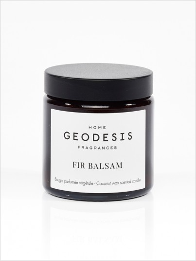 Balsam fir vegetable scented candle