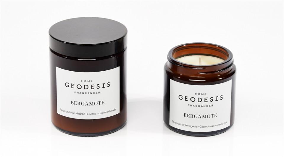 Bougie parfumée végétale Bergamote