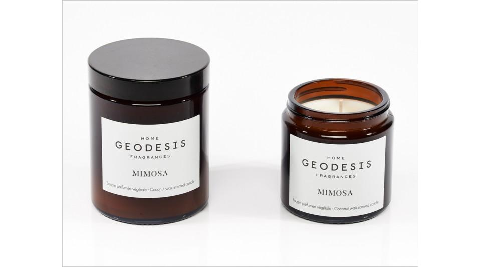 Bougie parfumée végétale Mimosa