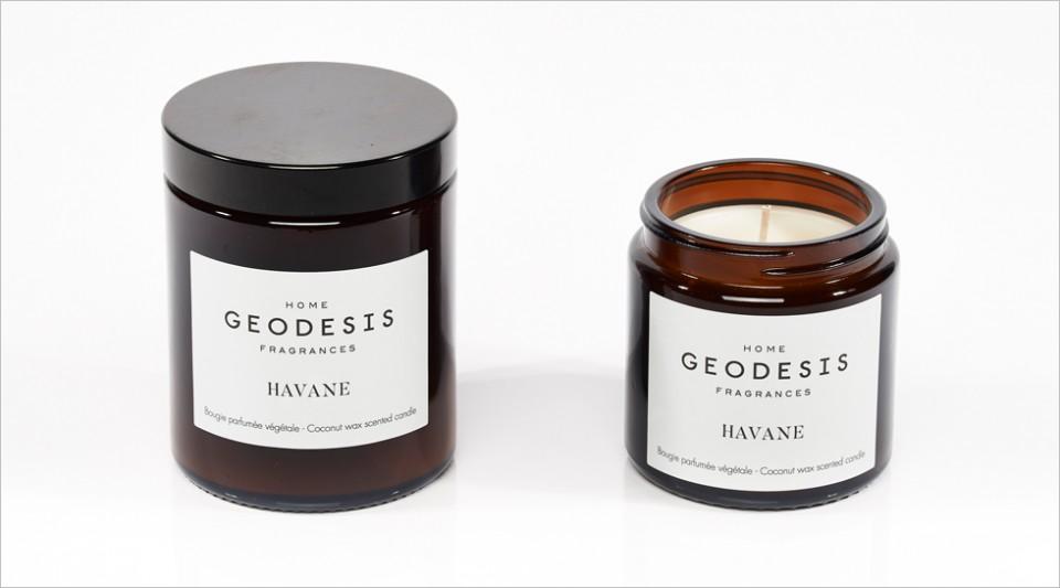 Bougie parfumée végétale Havane