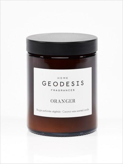 Bougie parfumée nature Oranger