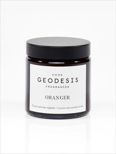 nature scented candle Orange-tree