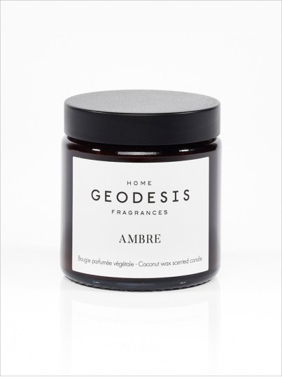 Amber vegetable scented candle