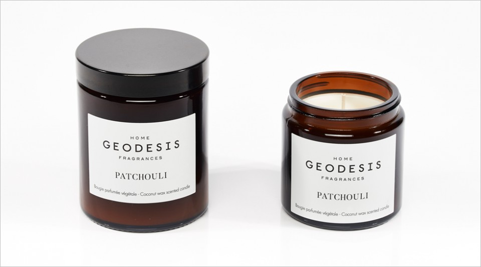 Patchouli vegetable scented candle