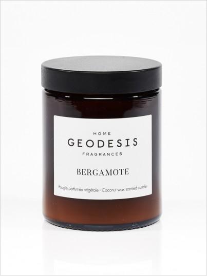 Bougie parfumée nature Bergamote