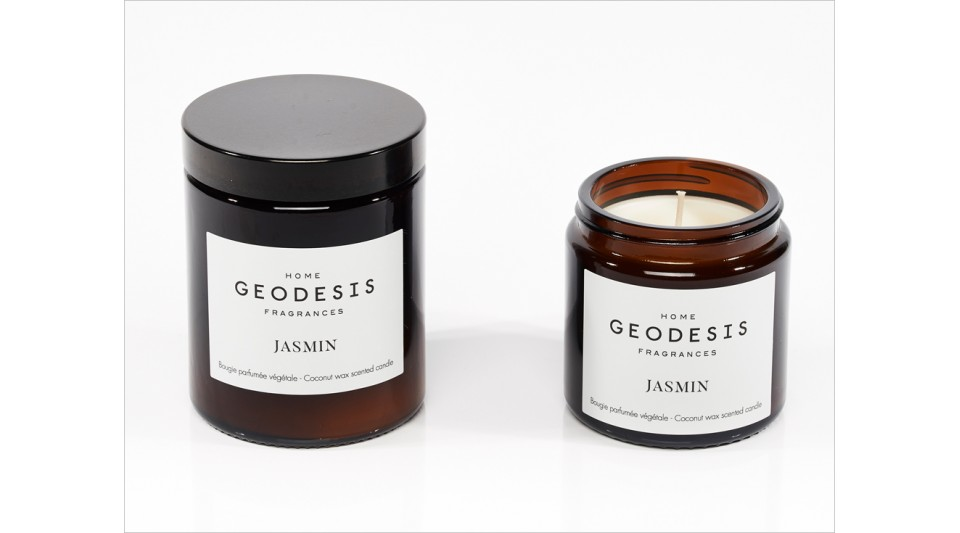 Jasmine vegetable scented candle
