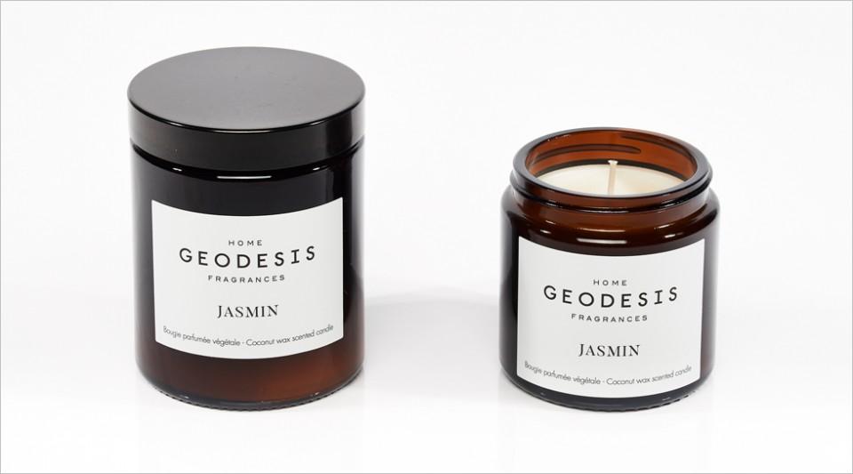Bougie parfumée végétale Jasmin