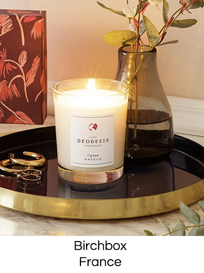 Scented candle made in France Birchbox