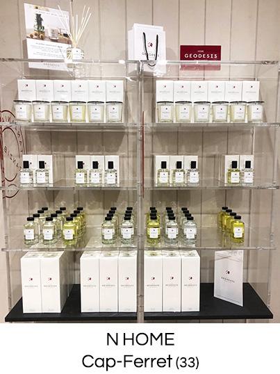 Geodesis parfums, bougies parfumées naturelles, parfums d'ambiance boutique Teo Nantes
