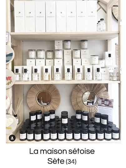 Bougie parfumée personnalisée naturelle fabriquée en France