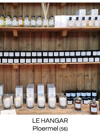 bougie parfumée fabriquée en France