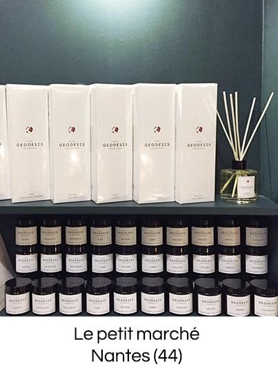 Geodesis Parfum, bougies parfumées, parfum d'ambiance fabriqué en France